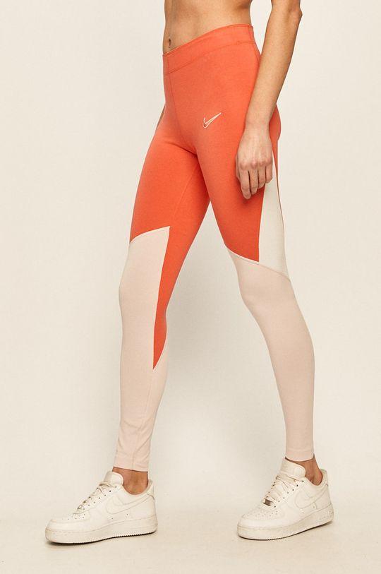 Nike Sportswear - Legíny broskvová