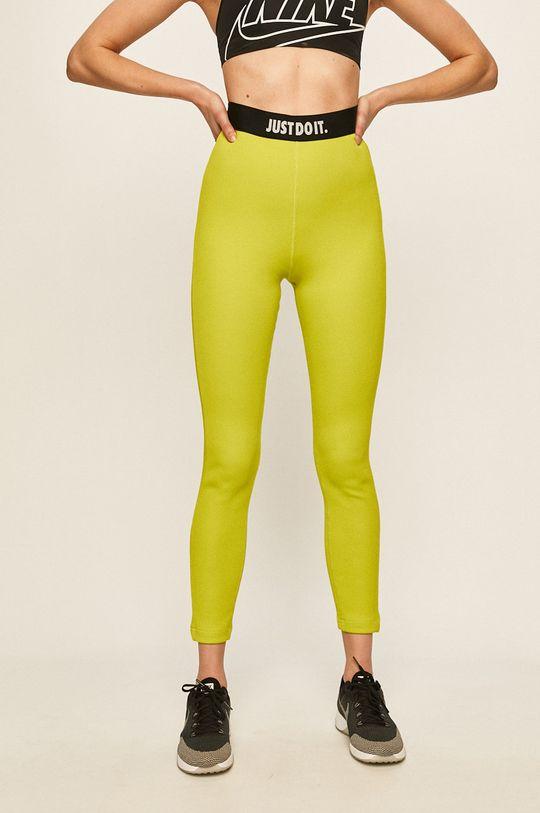 olivová Nike Sportswear - Legíny Dámský