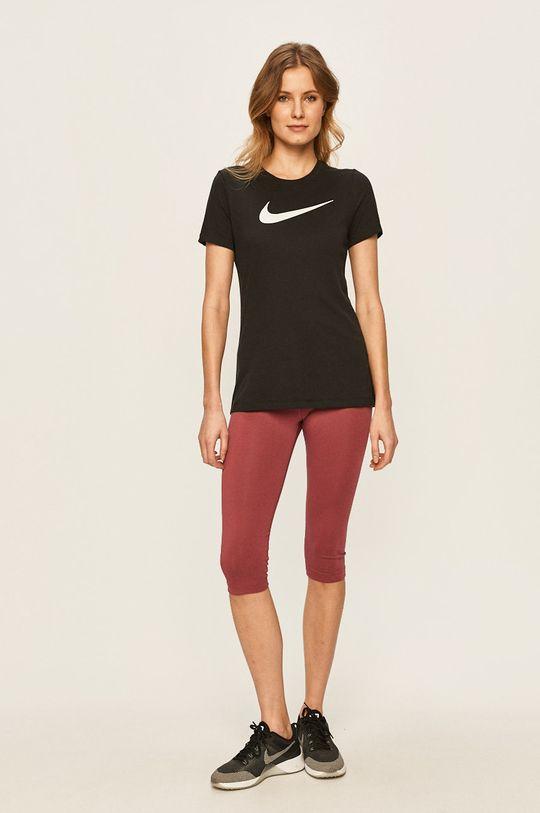 Nike Sportswear - Legíny fialovo-růžová