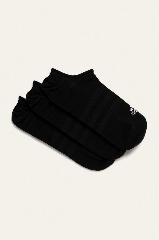 černá adidas Performance - Kotníkové ponožky (3-pack) Dámský
