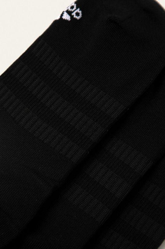 adidas Performance - Kotníkové ponožky (3-pack) černá