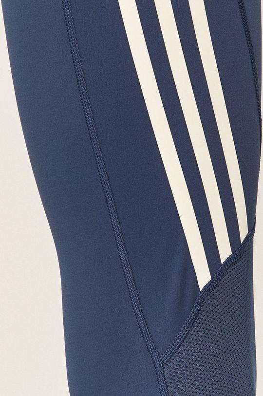 stalowy niebieski adidas Performance - Legginsy