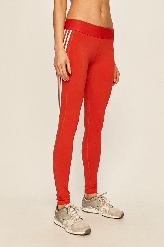 červená adidas Performance - Legíny Dámský