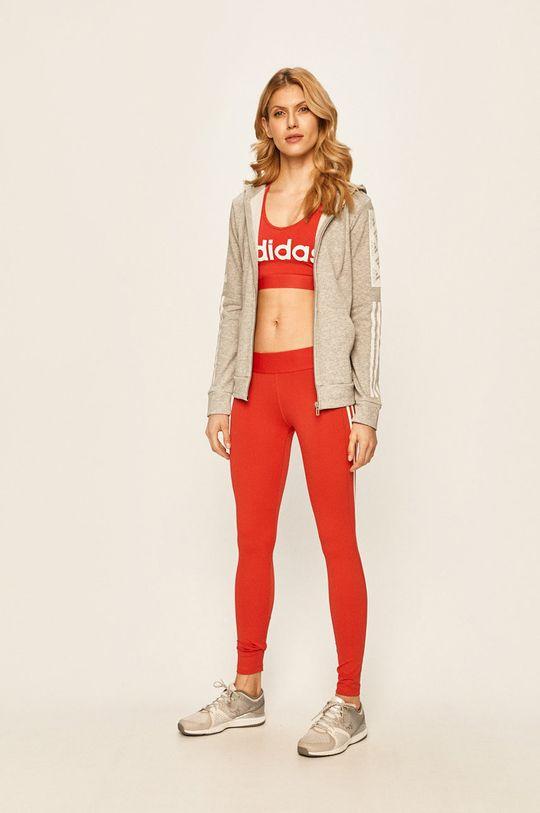 adidas Performance - Legíny červená