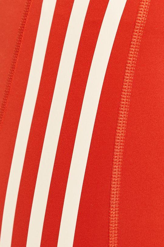 červená adidas Performance - Legíny