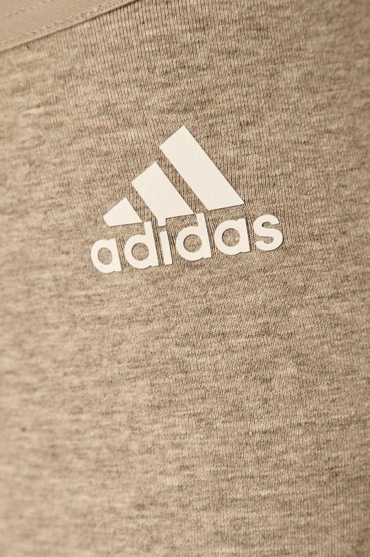 světle šedá adidas Performance - Legíny