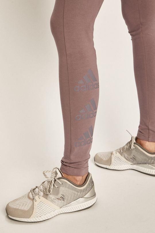 fialová adidas Performance - Legíny