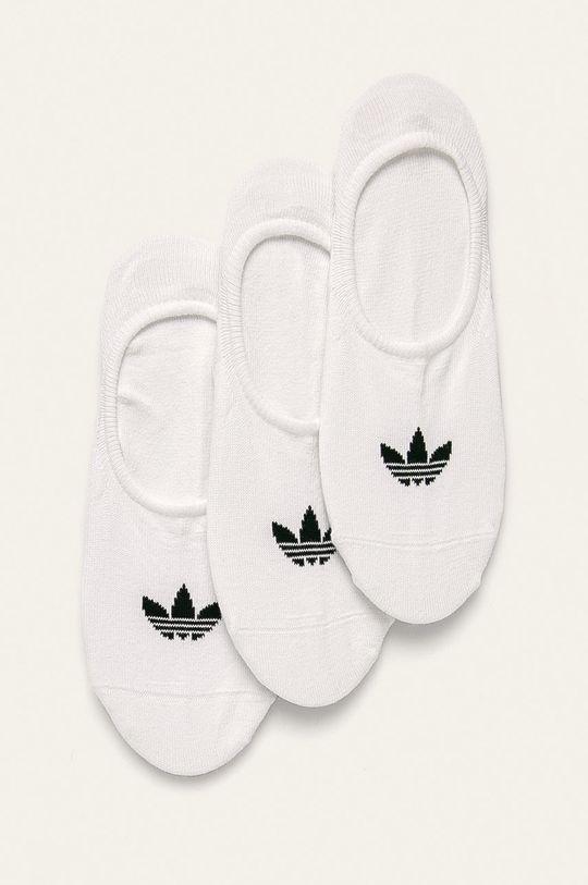 bílá adidas Originals - Kotníkové ponožky (3 pack) Dámský