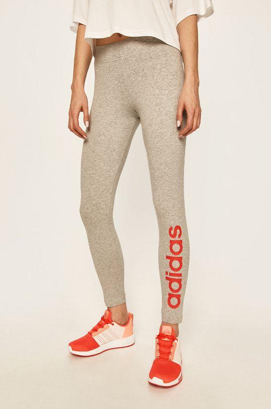 světle šedá adidas - Kalhoty Dámský