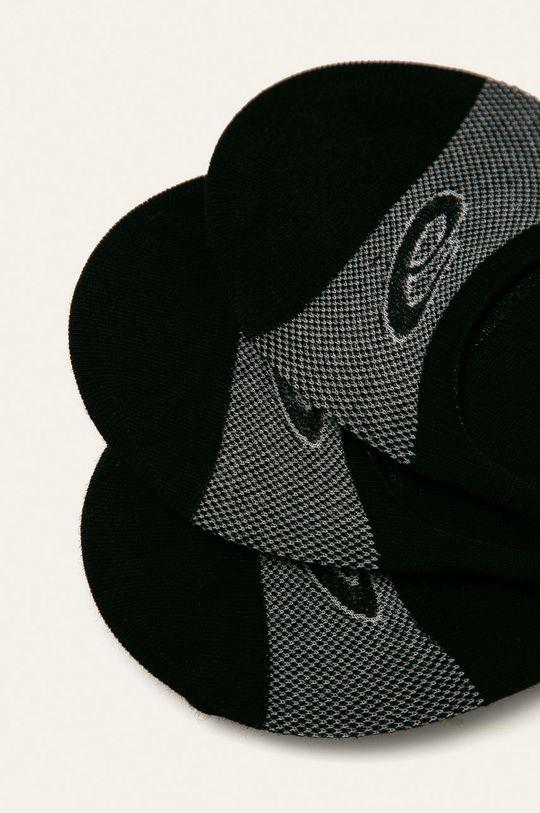 Asics Tiger - Kotníkové ponožky (3 pack) černá
