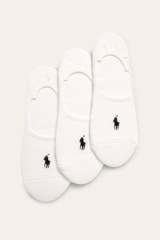 bílá Polo Ralph Lauren - Ponožky (3-pack) Dámský