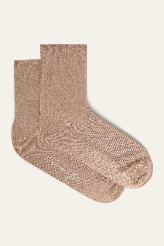 zlatá Tommy Hilfiger - Ponožky Dámský