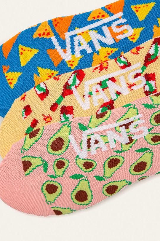 Vans - Kotníkové ponožky (3-pack) vícebarevná