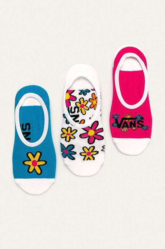 vícebarevná Vans - Kotníkové ponožky (3-pack) Dámský