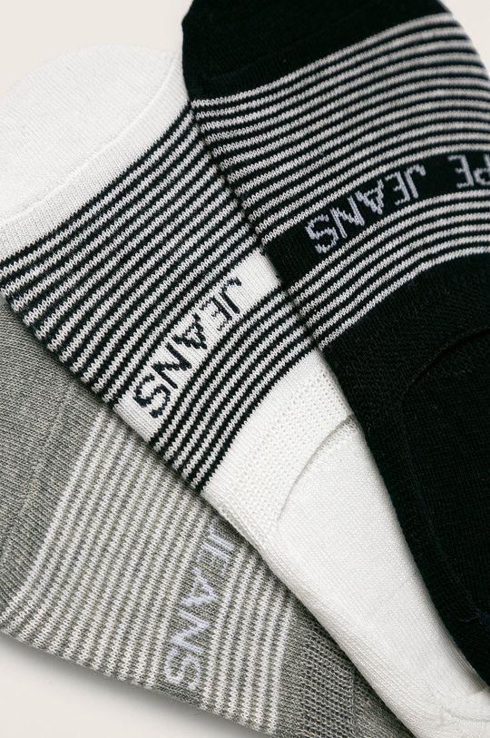 Pepe Jeans - Kotníkové ponožky Audrey (3-pack) šedá