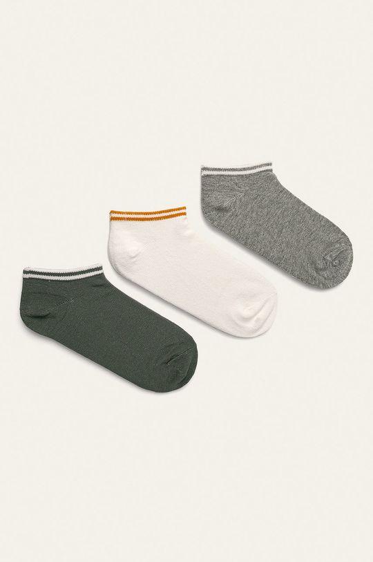 bílá Pepe Jeans - Kotníkové ponožky Camila (3-pack) Dámský