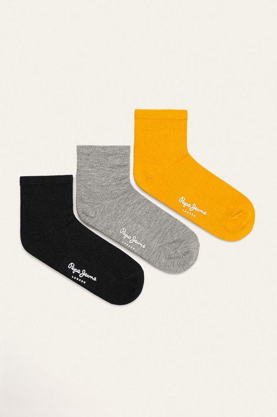 šedá Pepe Jeans - Ponožky Cora (3-pack) Dámský