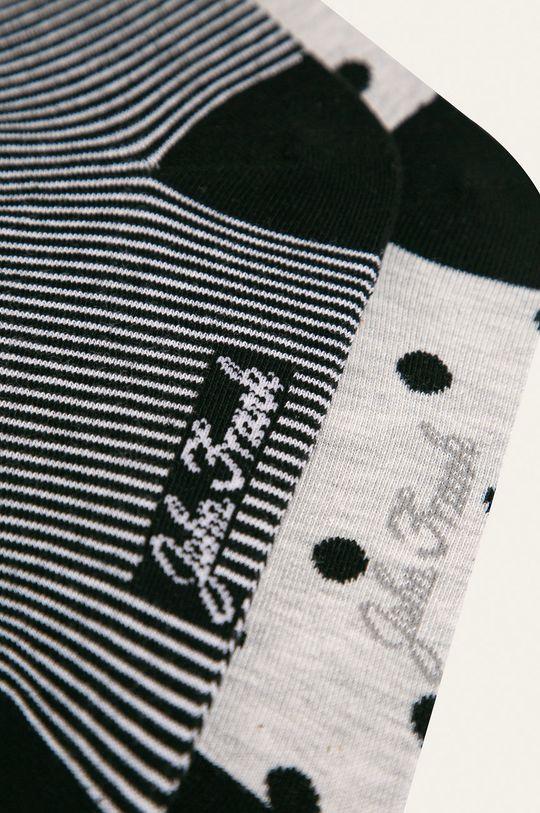 John Frank - Ponožky (2 pak) sivá