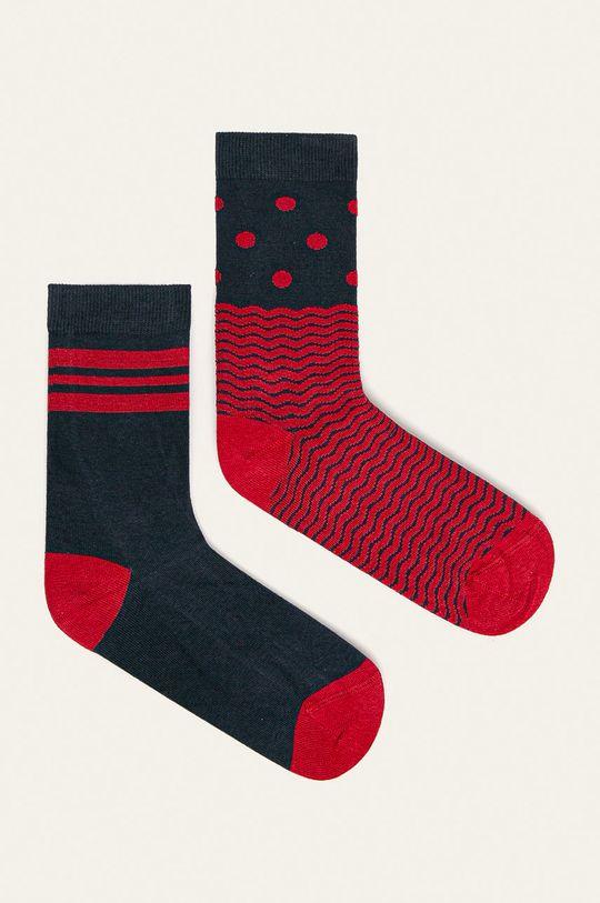 viacfarebná John Frank - Ponožky (2 pak) Dámsky