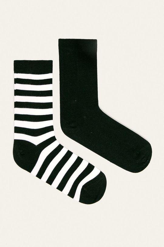 černá John Frank - Ponožky (2-pack) Dámský
