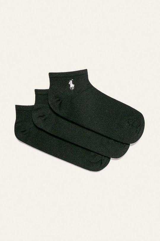 čierna Polo Ralph Lauren - Ponožky (3 pak) Dámsky