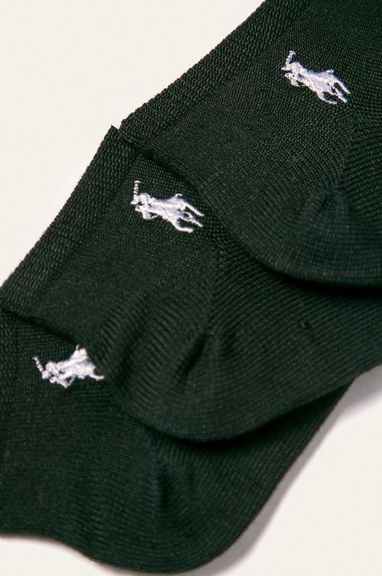 Polo Ralph Lauren - Ponožky (3 pak) čierna