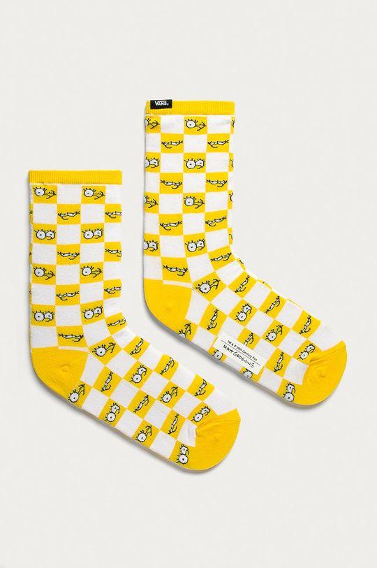 žltá Vans - Ponožky x The Simpsons Dámsky