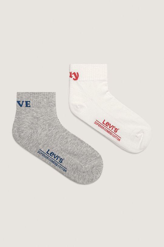 šedá Levi's - Ponožky (2-pack) Dámský