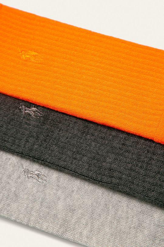 Polo Ralph Lauren - Ponožky (3-pack) šedá
