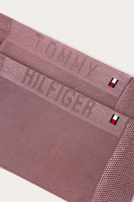 Tommy Hilfiger - Sosete roz murdar