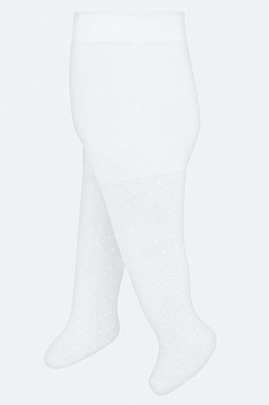 Mayoral - Detské pančuchy 62-86 cm biela