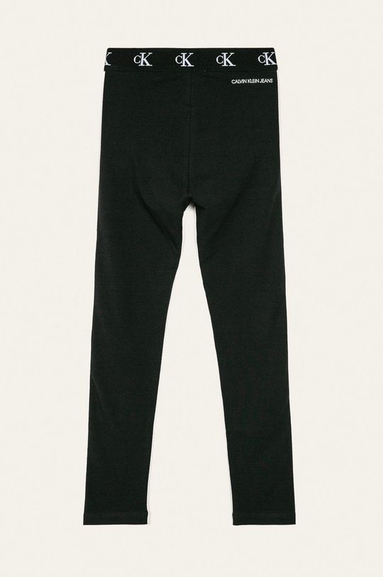 Calvin Klein Jeans - Detské legíny 116-176 cm čierna