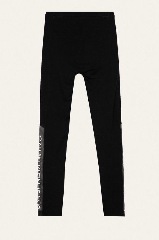 Calvin Klein Jeans - Detské legíny 116-176 cm. čierna