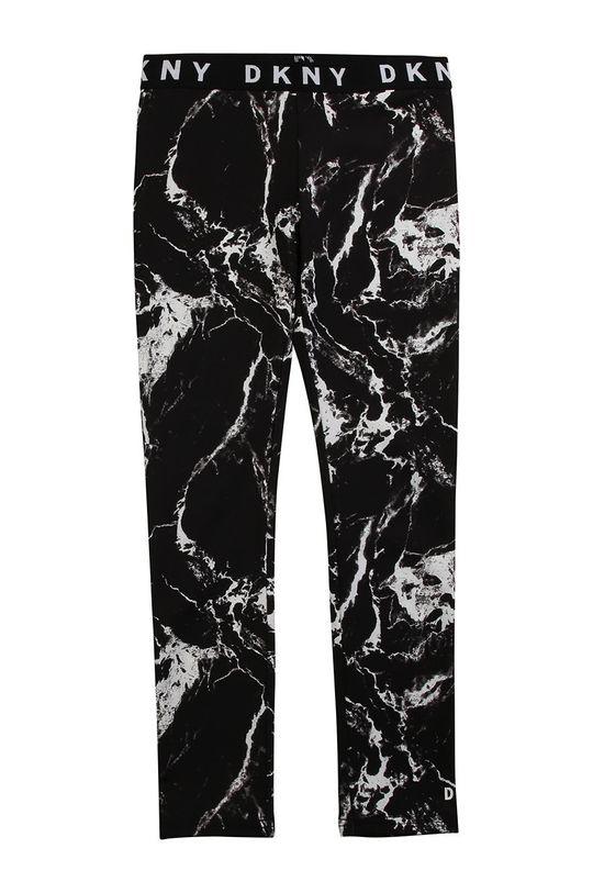 negru Dkny - Leggins copii 152-158 cm De fete