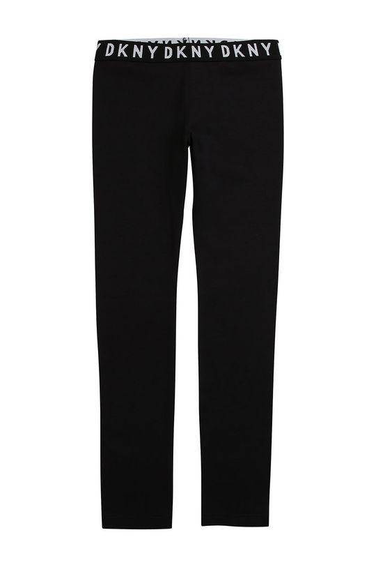 negru Dkny - Leggins copii 110-146 cm De fete