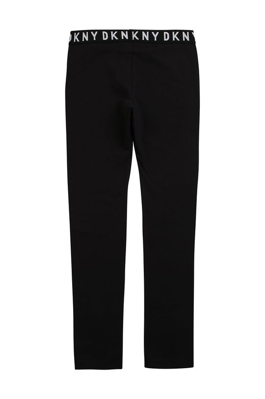 Dkny - Leggins copii 110-146 cm negru
