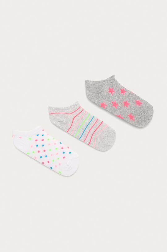 viacfarebná OVS - Detské členkové ponožky (3-pak) Dievčenský