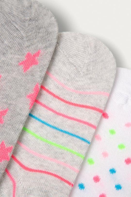 OVS - Detské členkové ponožky (3-pak) viacfarebná