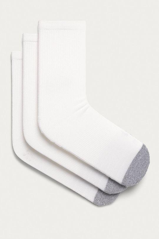 biały Under Armour - Skarpetki (3-pack) Męski
