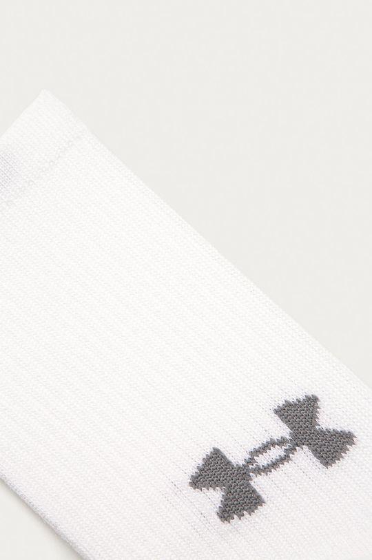 Under Armour - Skarpetki (3-pack) biały