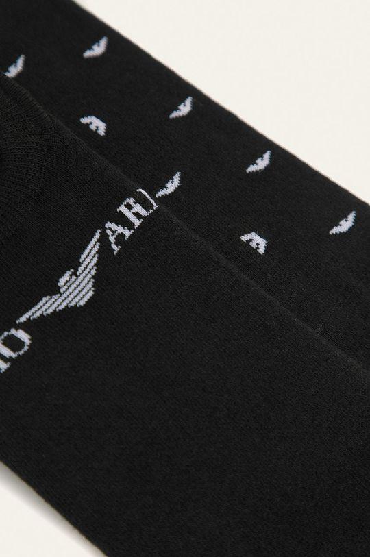 Emporio Armani - Sosete scurte (2-pack) negru