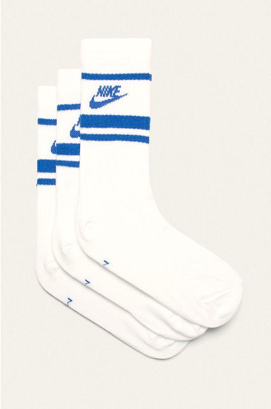 biały Nike Sportswear - Skarpety (3-pack) Męski