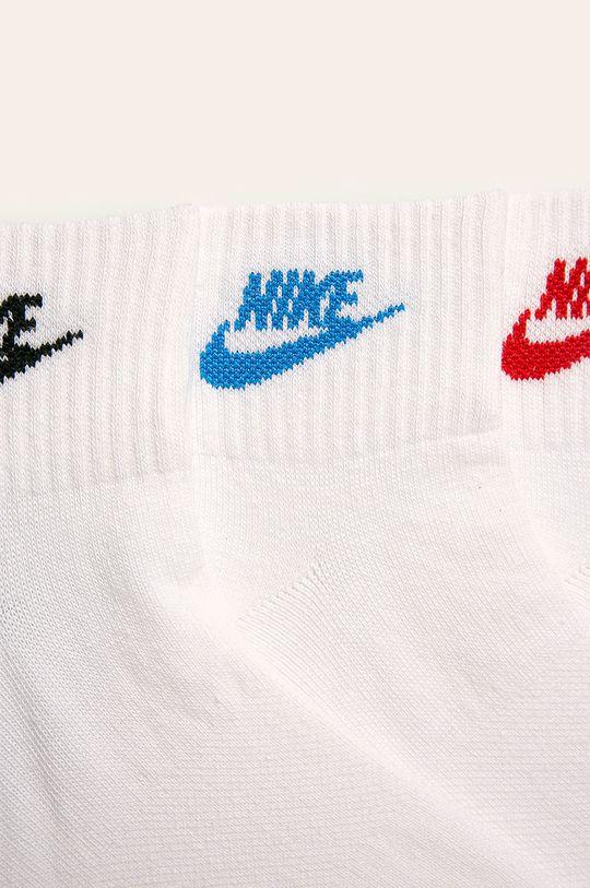 Nike Sportswear - Skarpetki (3-pack) biały
