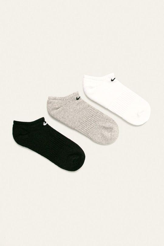 szary Nike - Stopki (3 pack) Męski