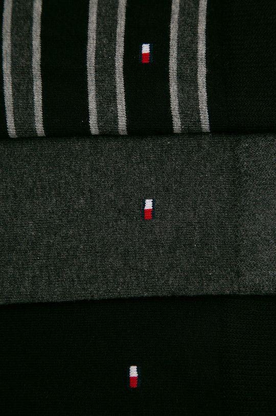 Tommy Hilfiger - Sosete (3-pack) negru