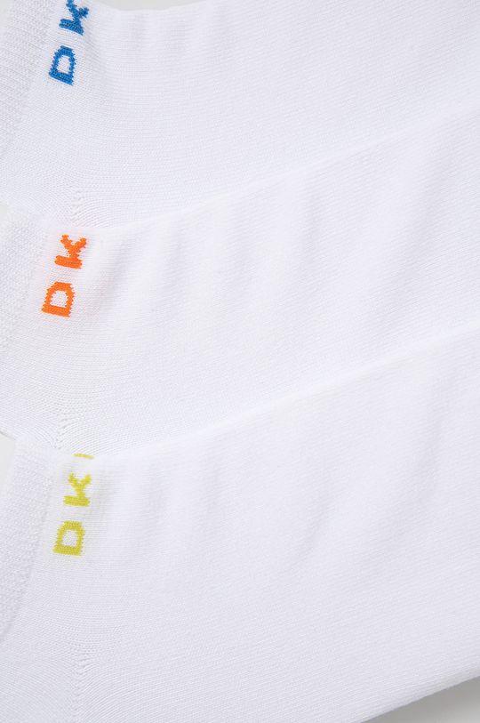 Dkny - Ponožky (3-pak) biela