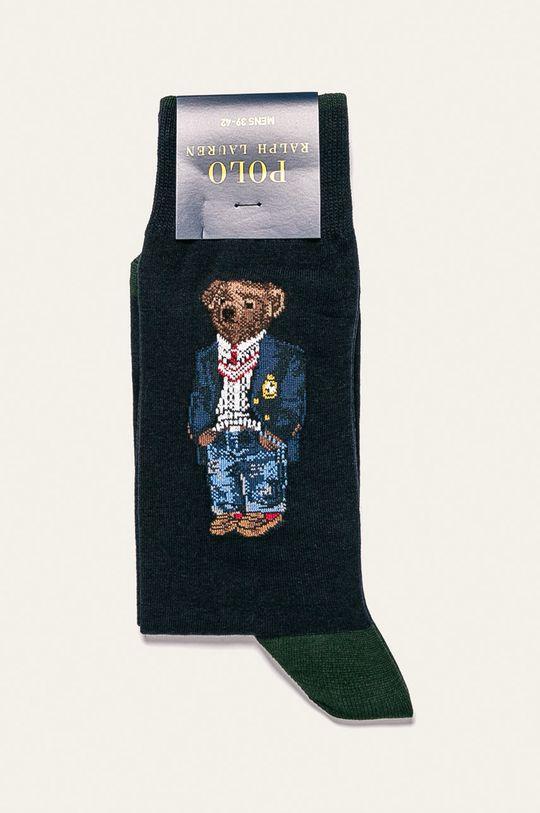 Polo Ralph Lauren - Ponožky 56% Bavlna, 3% Elastan, 23% Polyamid, 18% Polyester
