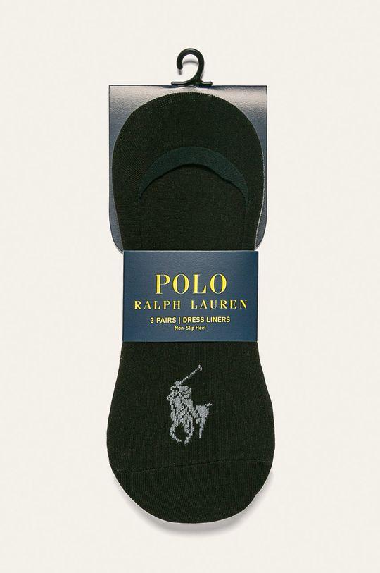 Polo Ralph Lauren - Sosete scurte (3-pack)  64% Bumbac, 3% Elastan, 7% Poliamida, 26% Poliester
