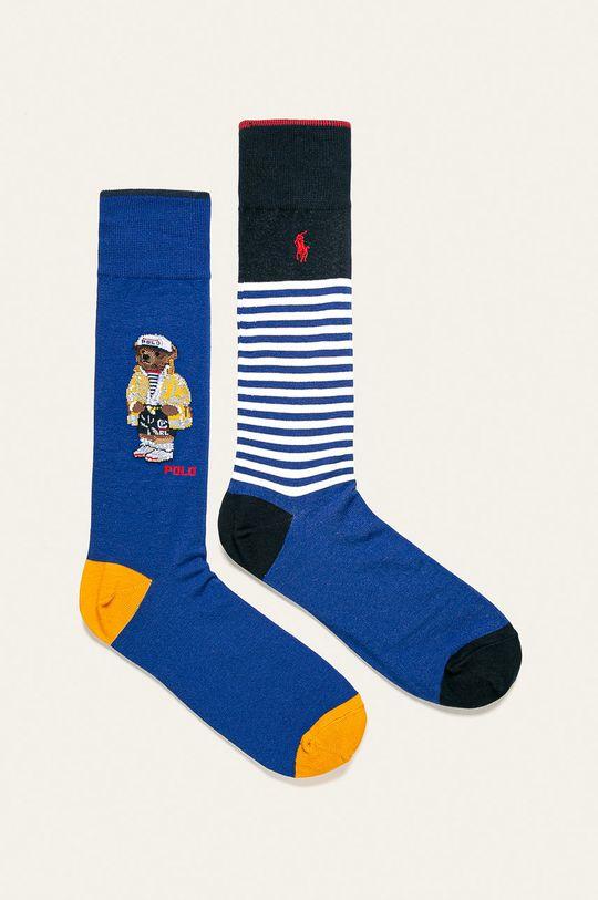 tmavomodrá Polo Ralph Lauren - Ponožky (2-pak) Pánsky