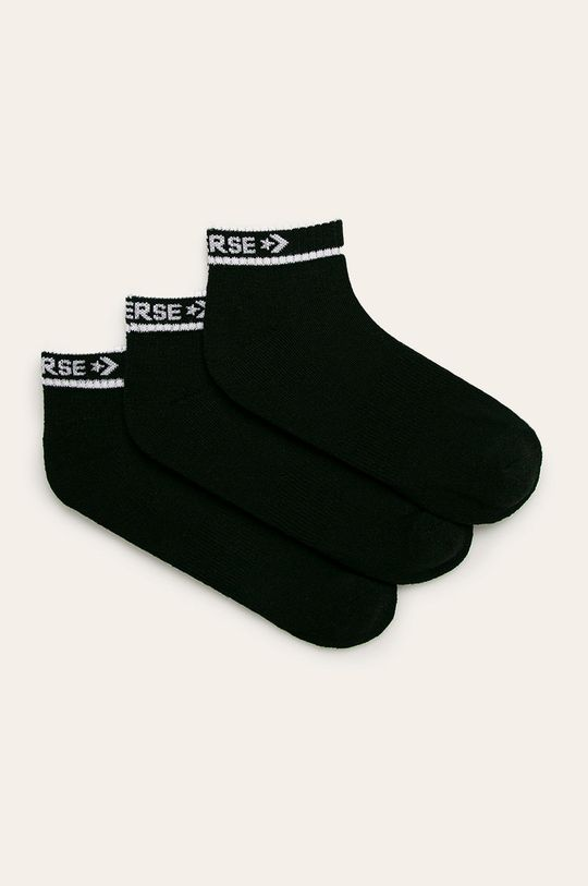 negru Converse - Sosete (3-pack) De bărbați